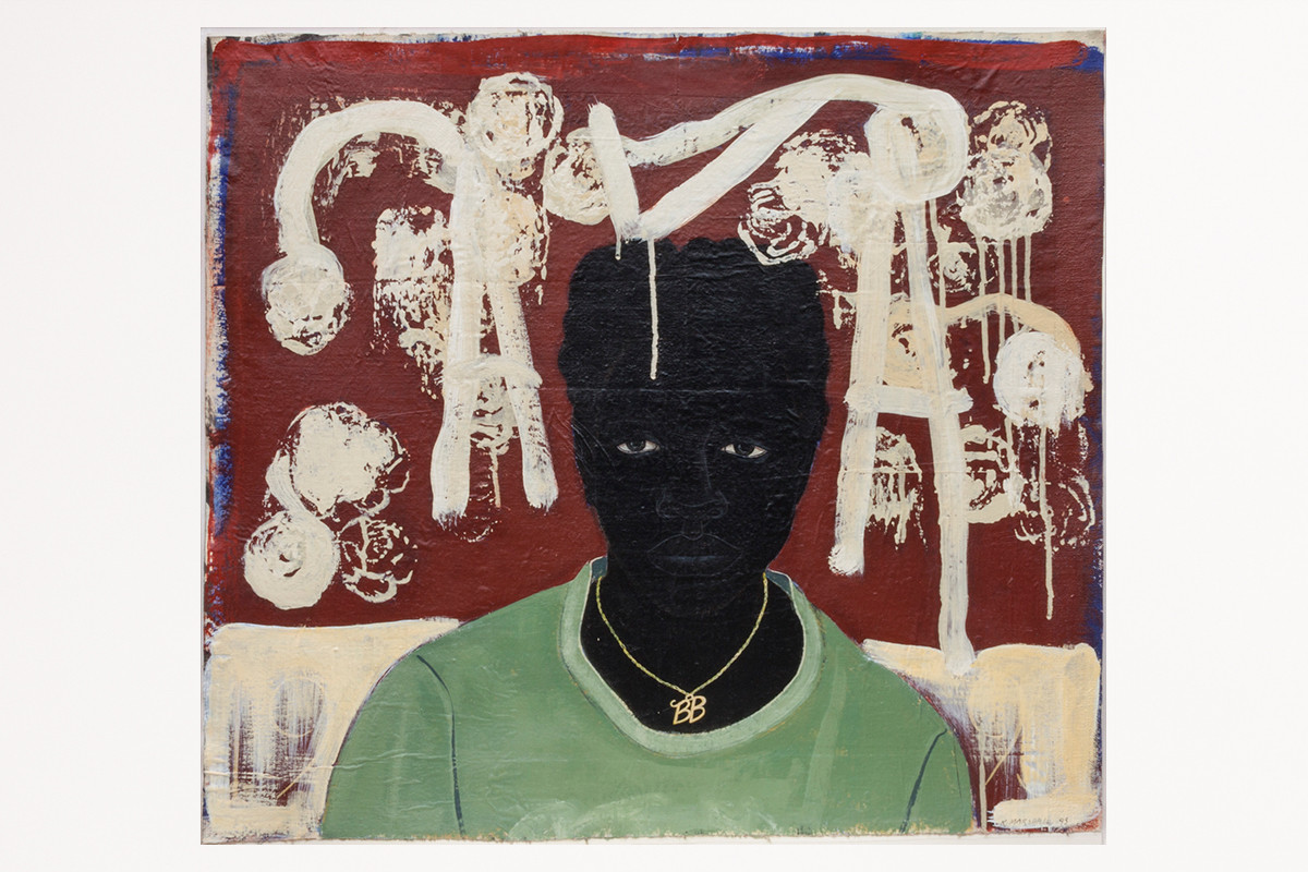 """Paintings in the collection of the newly formed nonprofit Art Bridges include """"Lost Boys: AKA BB,"""" by artist Kerry James Marshall."""