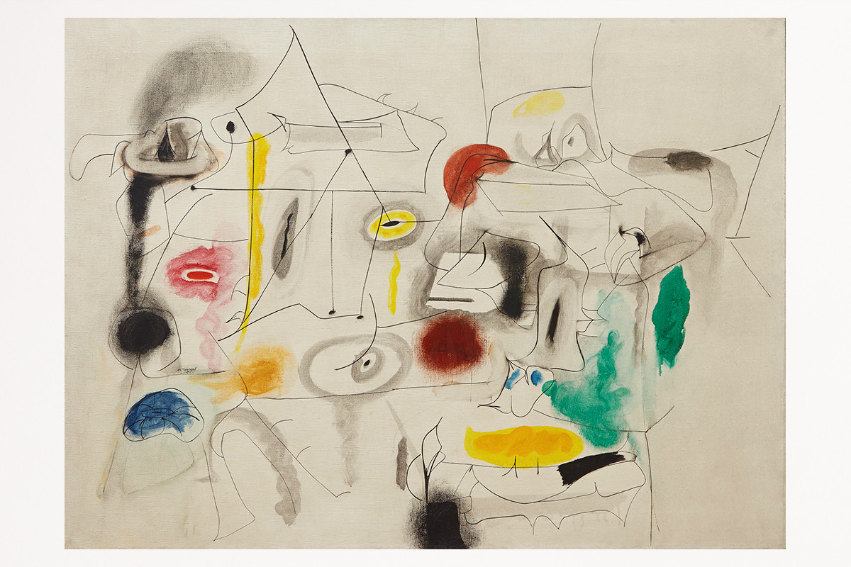 """Paintings in the collection of the newly formed nonprofit Art Bridges include """"Child's Companions"""" by Arshile Gorky."""