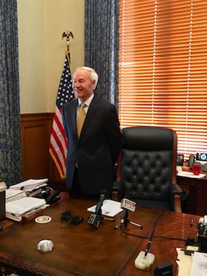 Asa Hutchinson Opposes Tapping General Revenue for Roads