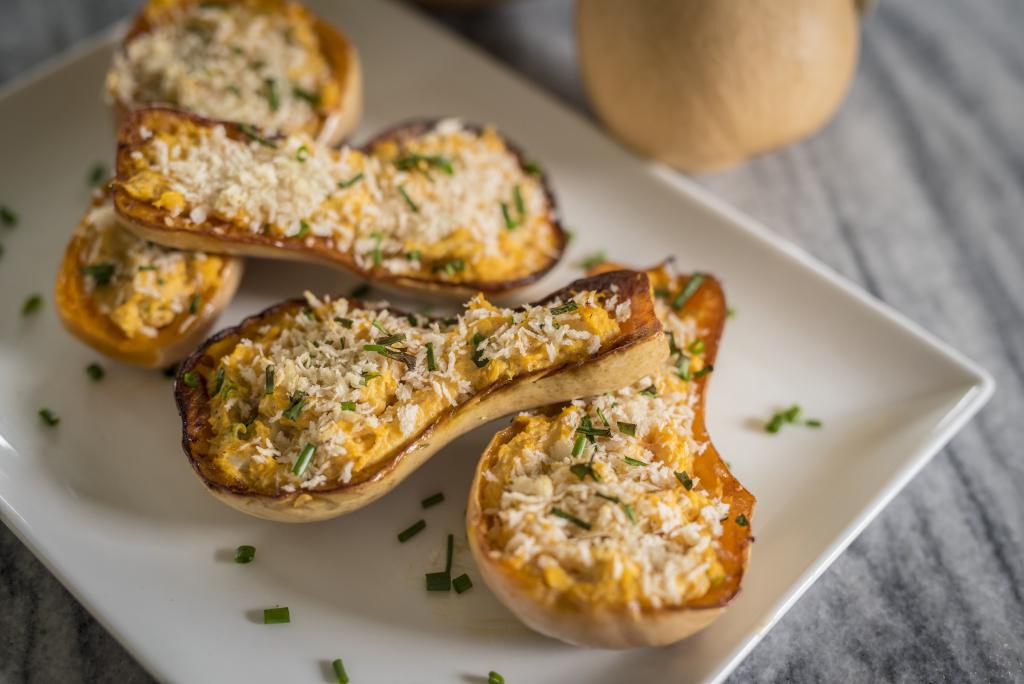Recipe: Twice-Baked Little Dipper Butternut Squash