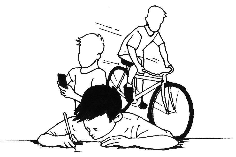 ADHD Ink Illustration