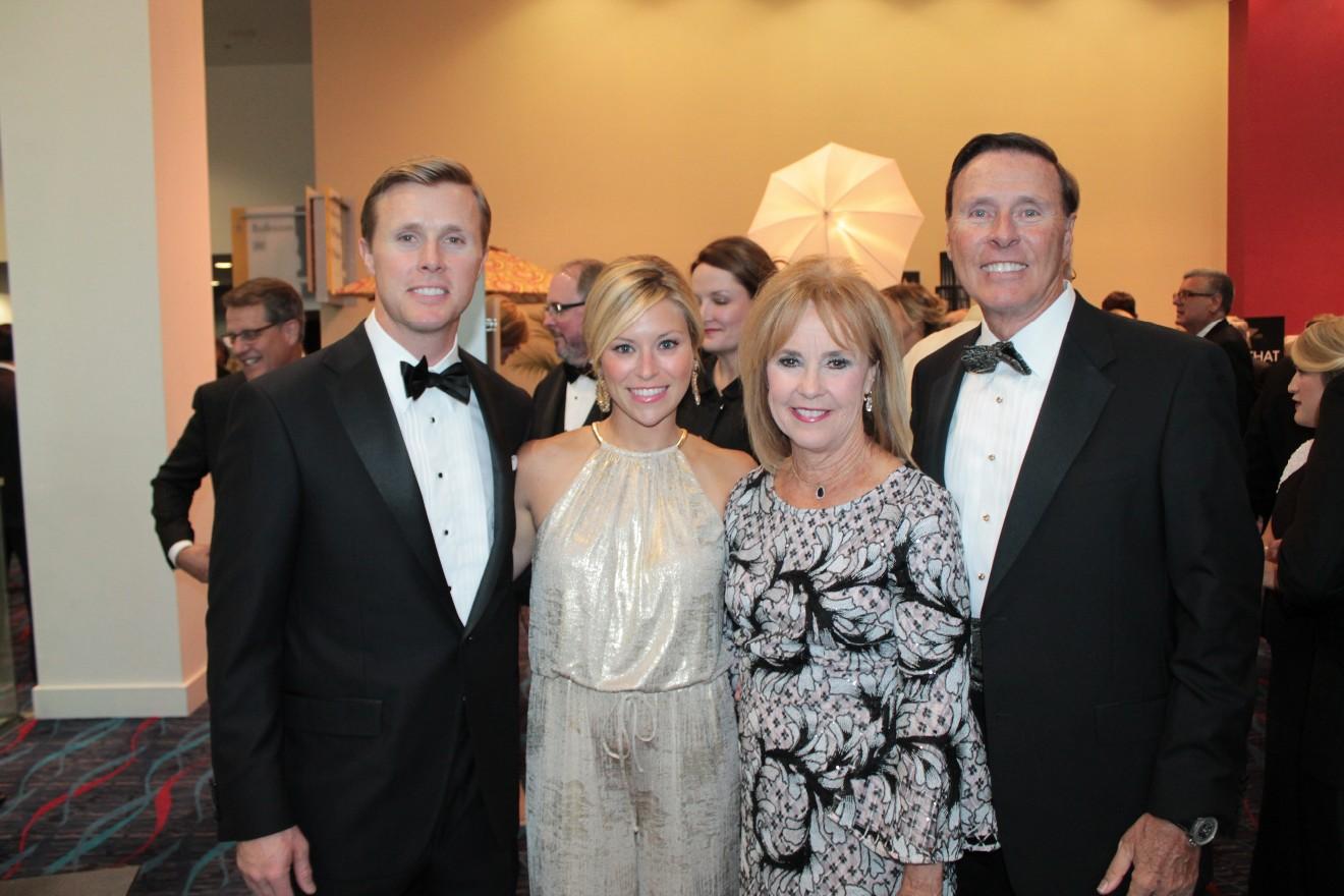 Nathan and Jordan Rutledge, Ann and Reynie Rutledge