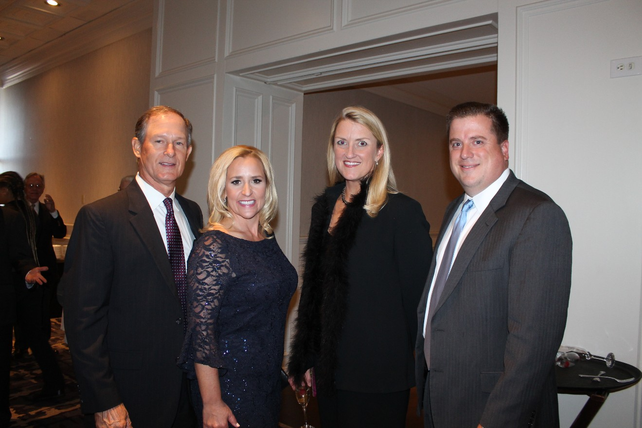 Boyce Johnson, Leslie Rutledge, Sharon Tallach Vogelpohl and Carl Vogelpohl