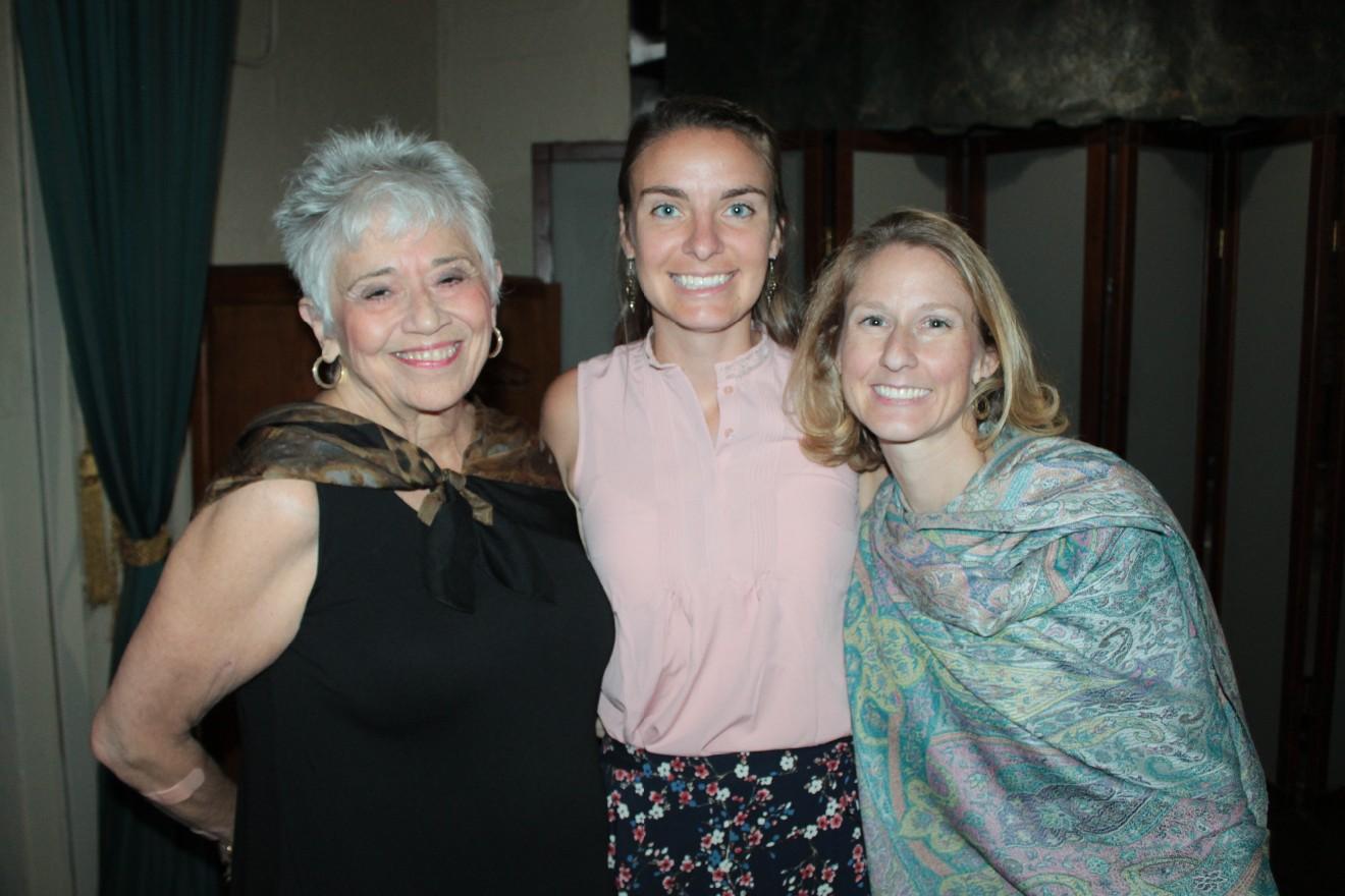 Mary Waldo, Morgan O'Neil, Sara Drew