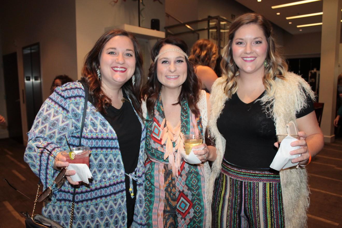 Claire Vann, Brittany Roderick, Morgan Harrell