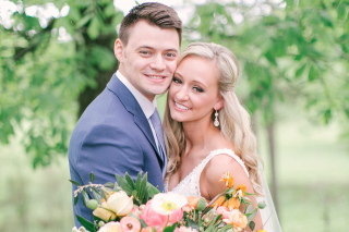 Real Paron Wedding: Michaela Held & Davis Kinley of Little Rock