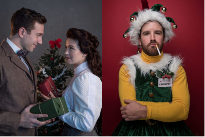 Meet the Cast and Crew Behind 'The Gift of the Magi' and 'The Santaland Diaries'