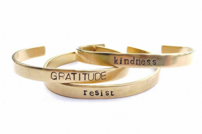 Holiday Giveaway: Hand-Stamped Bracelets from Bella Vita Jewelry