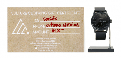 Holiday Giveaway: Watch + $100 Gift Card from Culture Clothing Co.