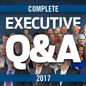 The Year in Executive Q&A: 2017