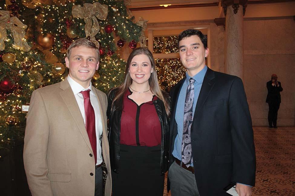 Bryce Wall, Allison Schneider, Blake Wiggins
