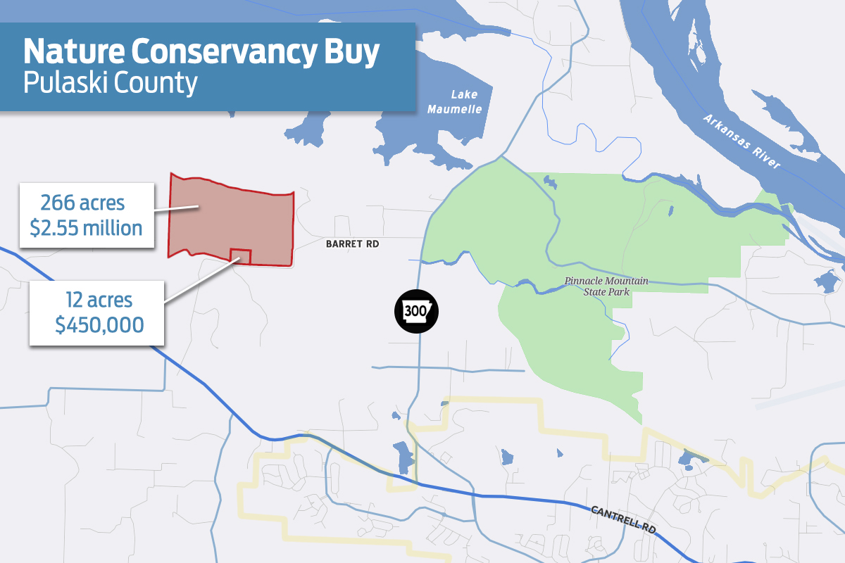 Nature Conservancy Buys County Land | Arkansas Business ...