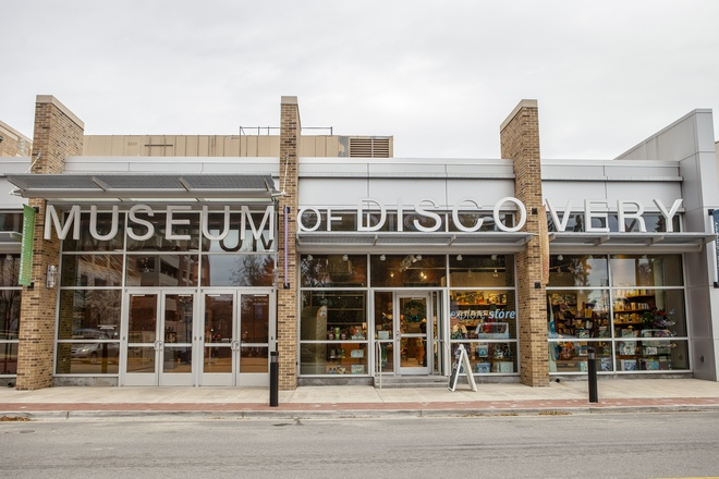 Museum of Discovery, downtown Little Rock, River Market