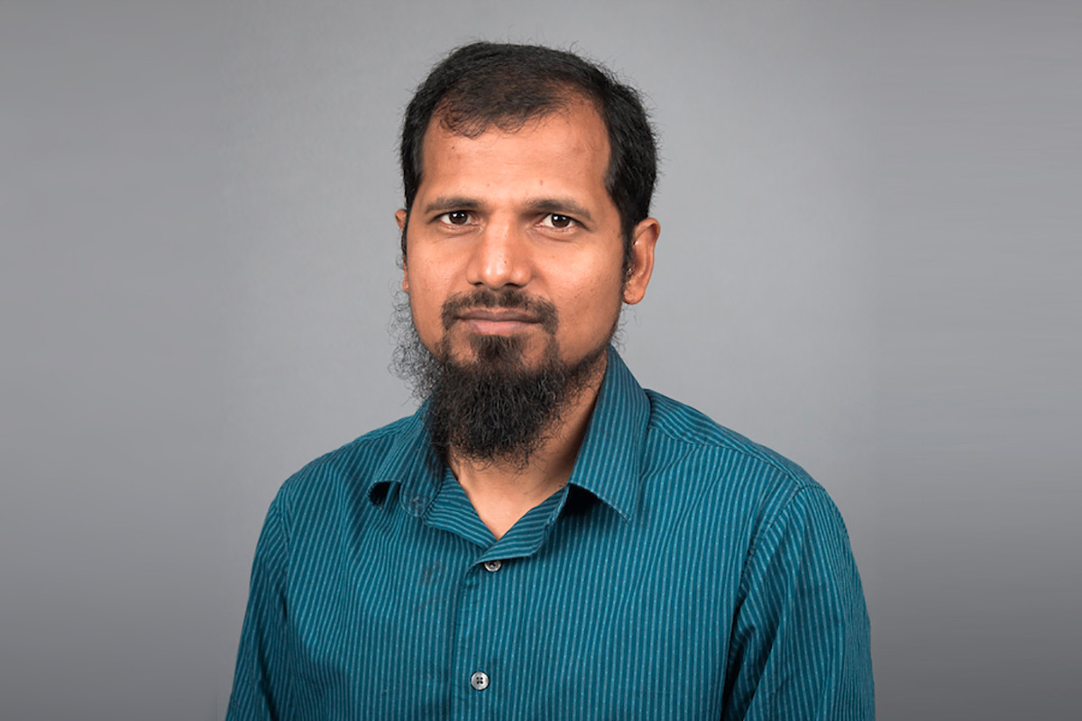 Mohammad Abrar Alam Regarded for Biosciences Work (A-State Movers & Shakers)