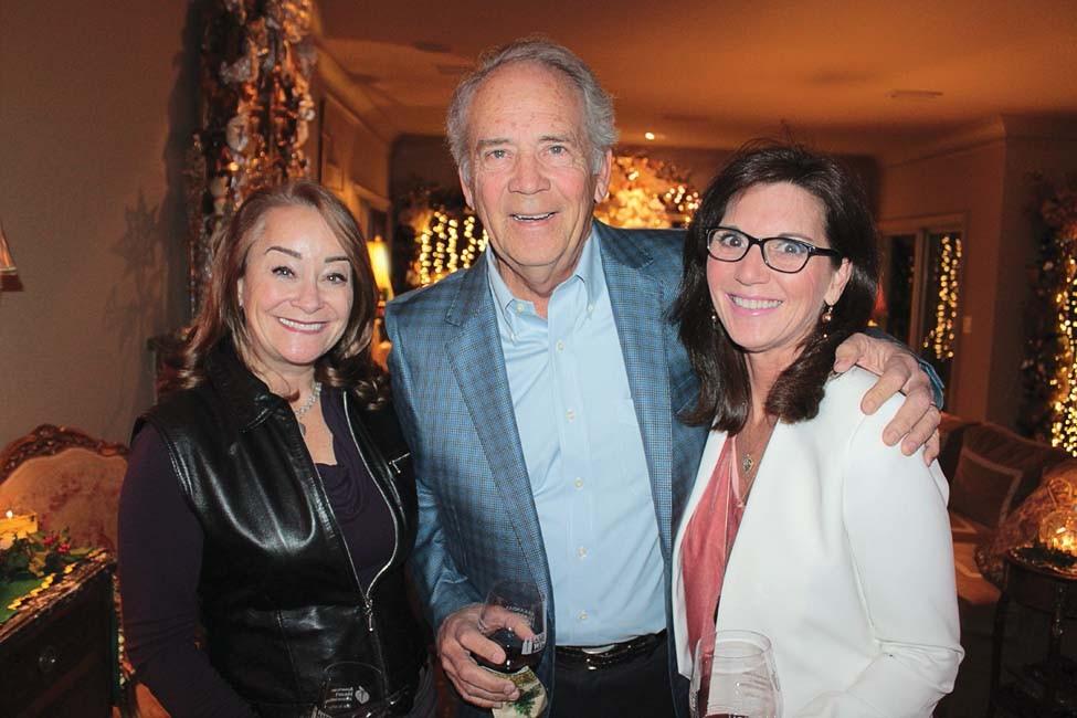 Gina Pharis, Bob and Martha Snider