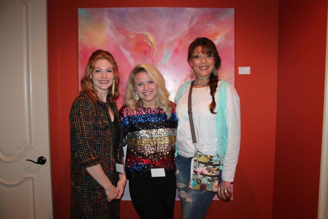 Lauren Thompson, Christina Gore, Brenda Jeter