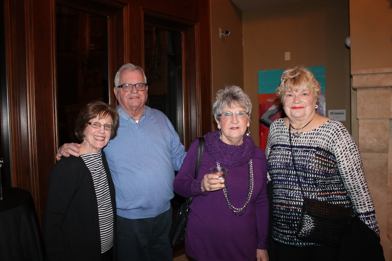 Alyce and John Parker, Mary Jo Lewno, Pauline Gerstein