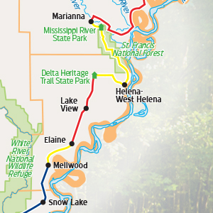 Big River Trail Blazing Adds More Mileage To Tourism Byway