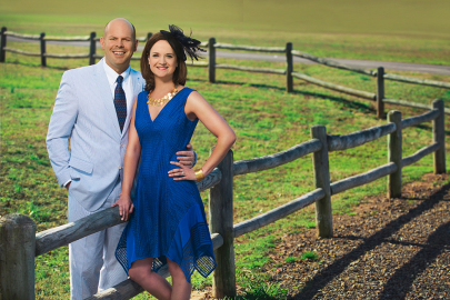 Casey and Matt Finch Place Bets on Southern Silks
