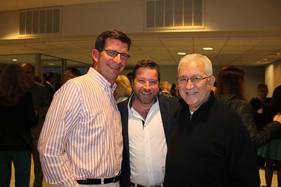 Lanny Hickey, Harry Gerard, Greg Daniels