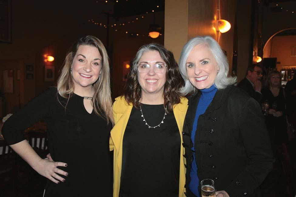 Mallory Goff, Kim Roxburgh, Terri Isaac