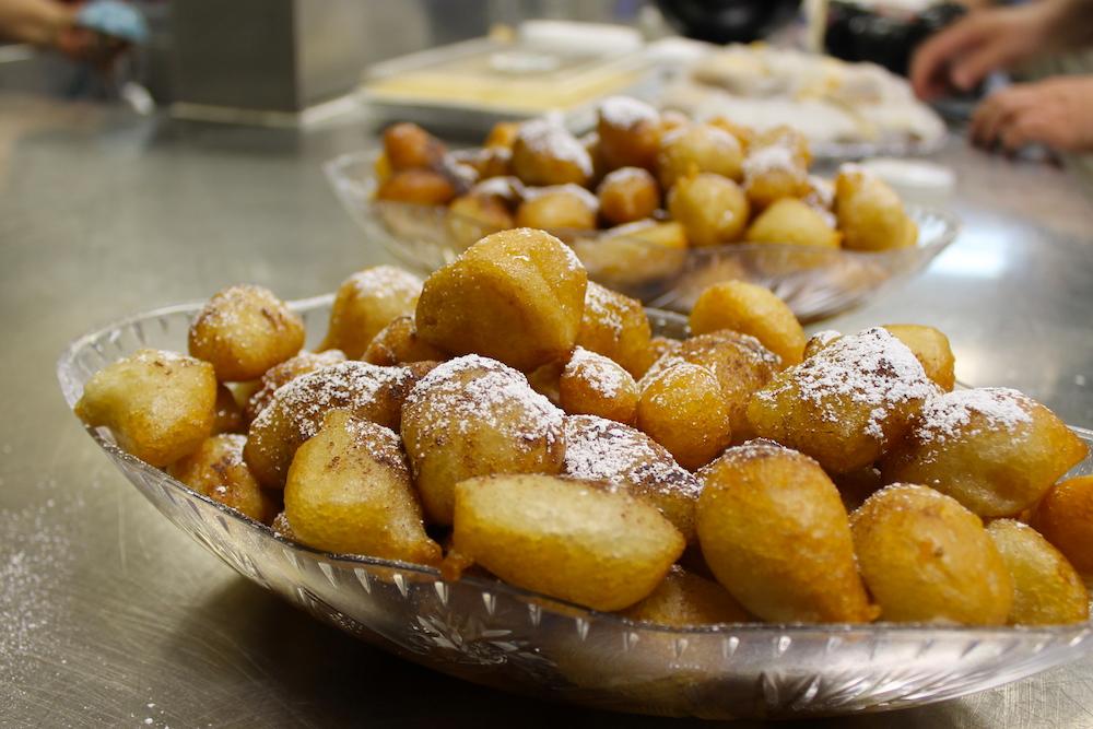 Loukoumathes, Greek Doughnut Holes, International Greek Food Festival