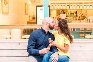 Shelby + Brooks' Sweet Ice Cream-Filled Engagement Sesh