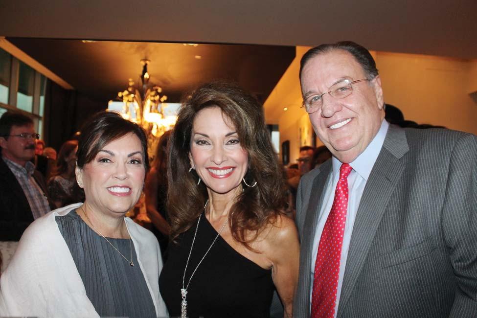 Sandy Landers, Susan Lucci, Steve Landers