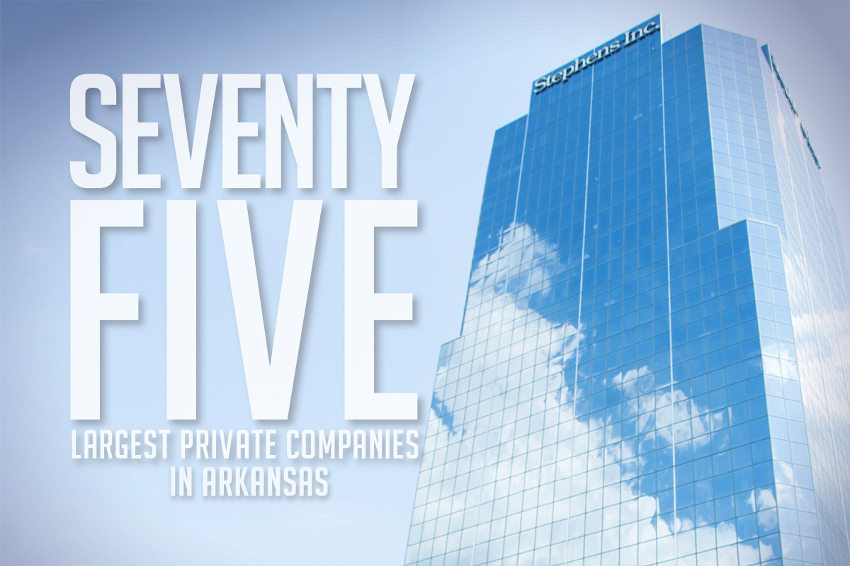 75 Largest Private Companies in Arkansas Combine for $38.9B
