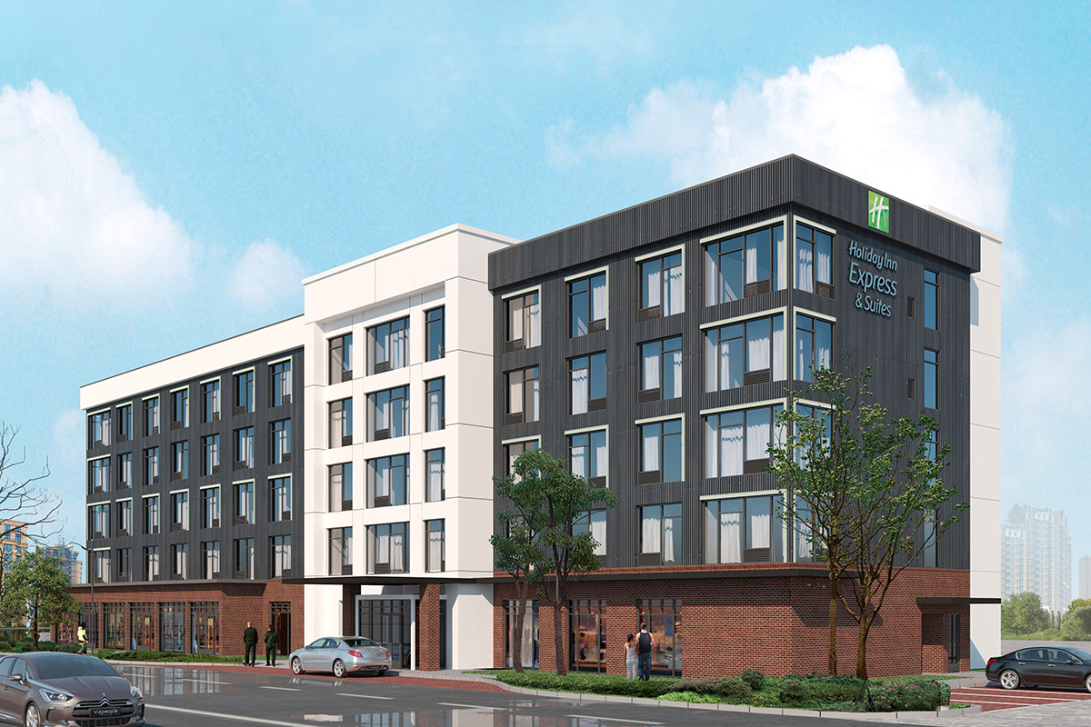 Holiday Inn Express Expected in East Village Development