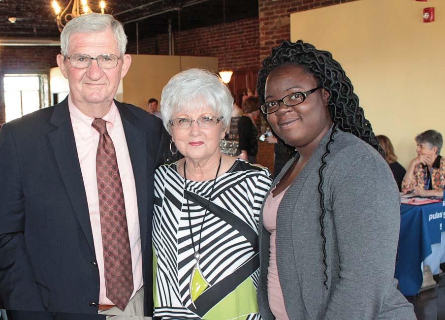 Jim and Kaye Wood, Raven Winfrey