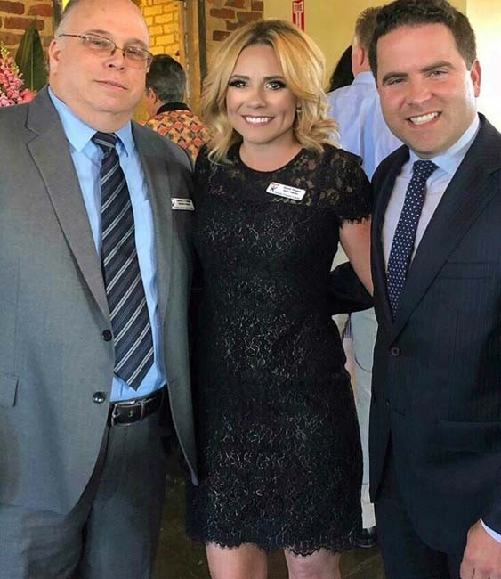 Darryl Capps, Sarah Hogan, Warwick Sabin