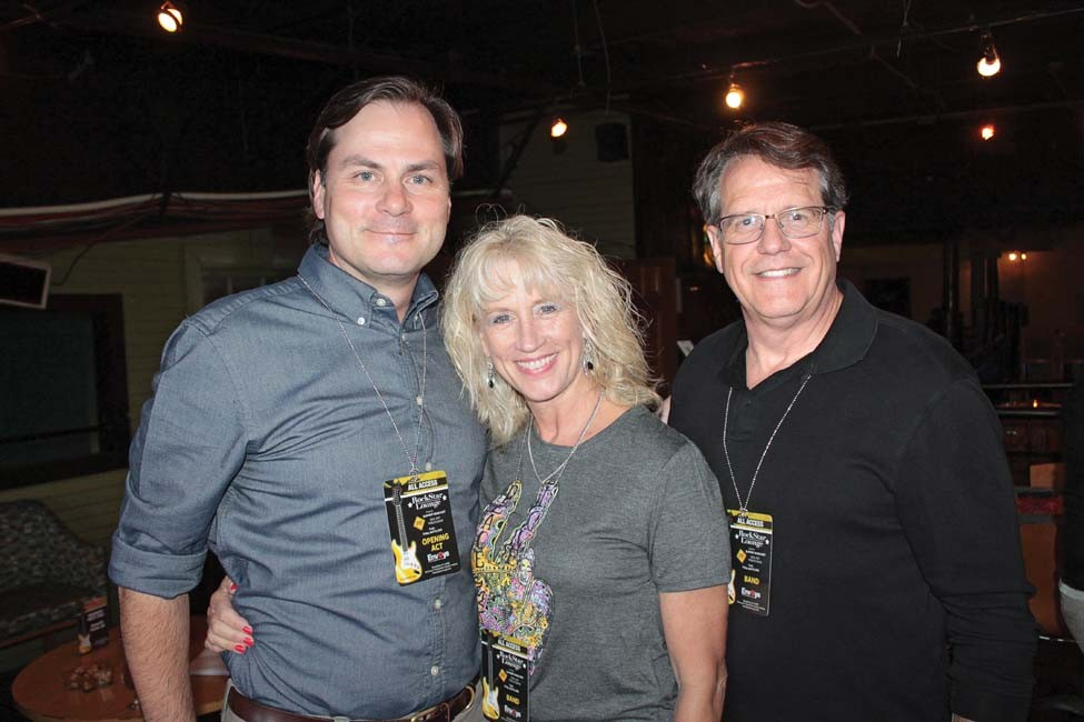 Bill Woodyard, Carla and Dr. Peter Emanuel