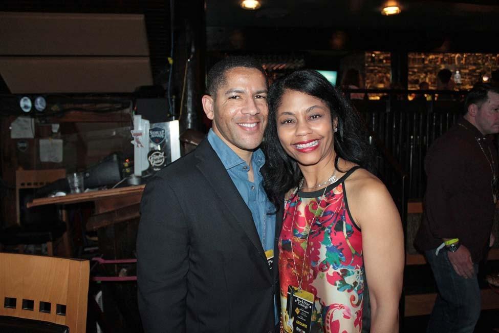 Derrick Smith and Dr. Gwendolyn Bryant-Smith