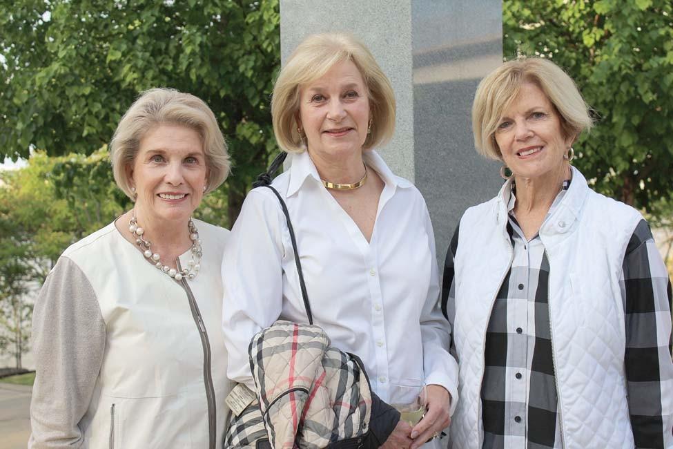 Barbara Hoover, Josie Cotè, Ann Lewis