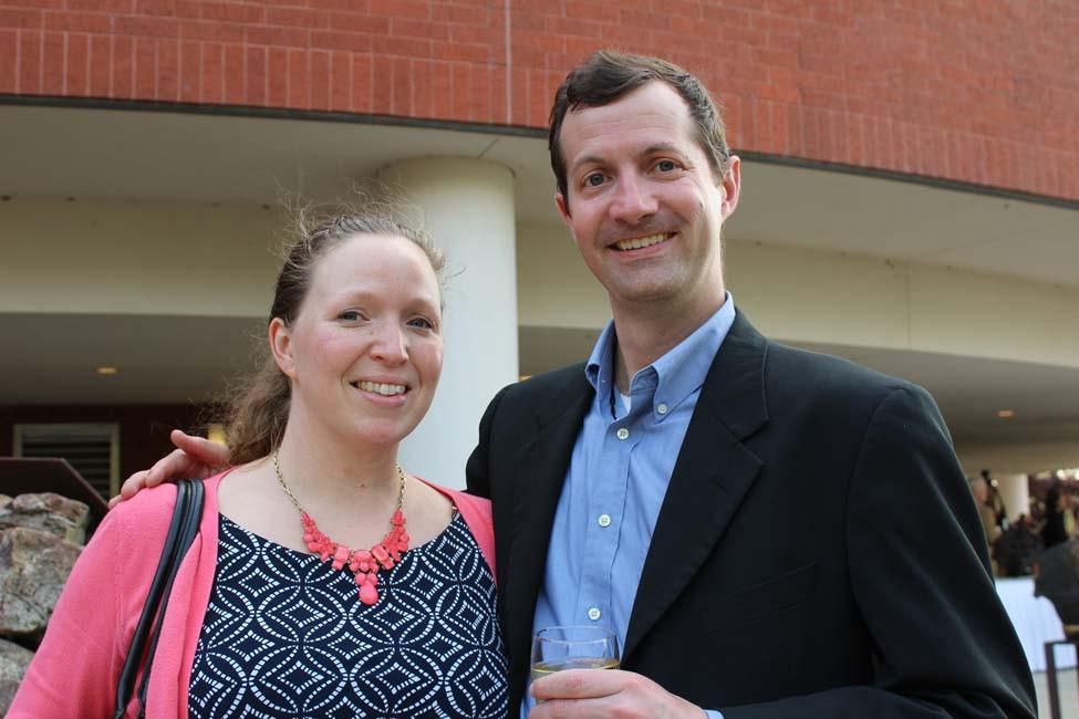 Lauren and Grant Morris