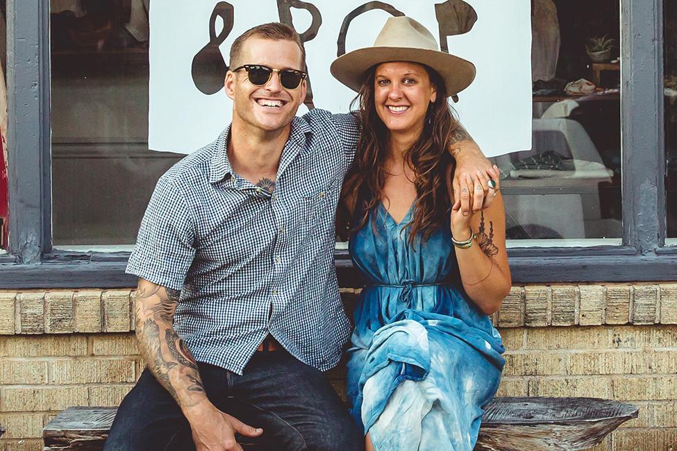 LIVING IN ARKANSAS Meet the Neighbors Sadie Virginia & Bill Harris