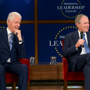 Bill Clinton, George W. Bush to Join 59 Scholars in Arkansas
