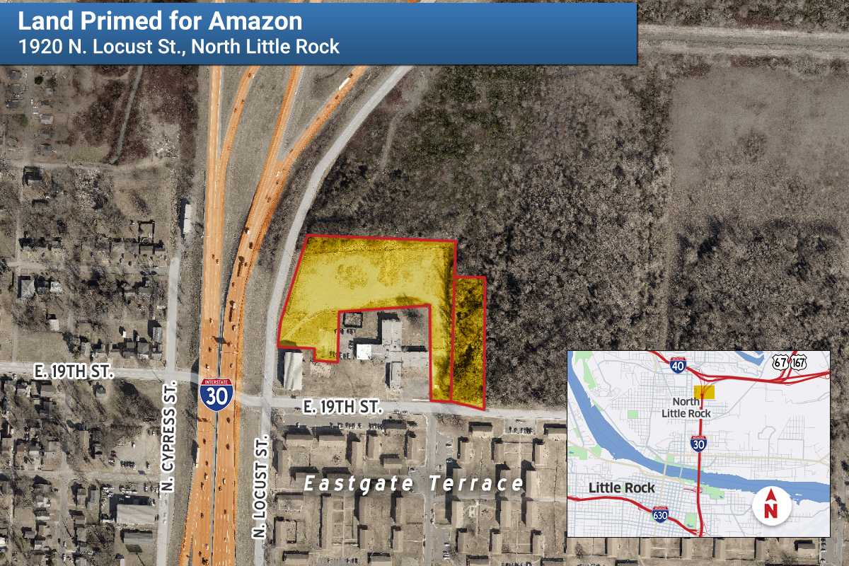 City: Amazon to Open Distribution Center In North Little